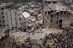 2013 Savar Building Collapse, Bangladesh